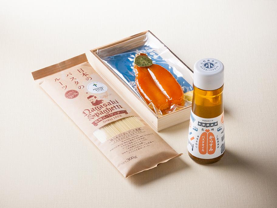 からすみスパゲッチーセット(松)