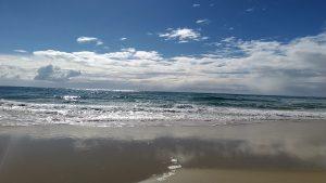 ノースストラドブローク島の浜辺